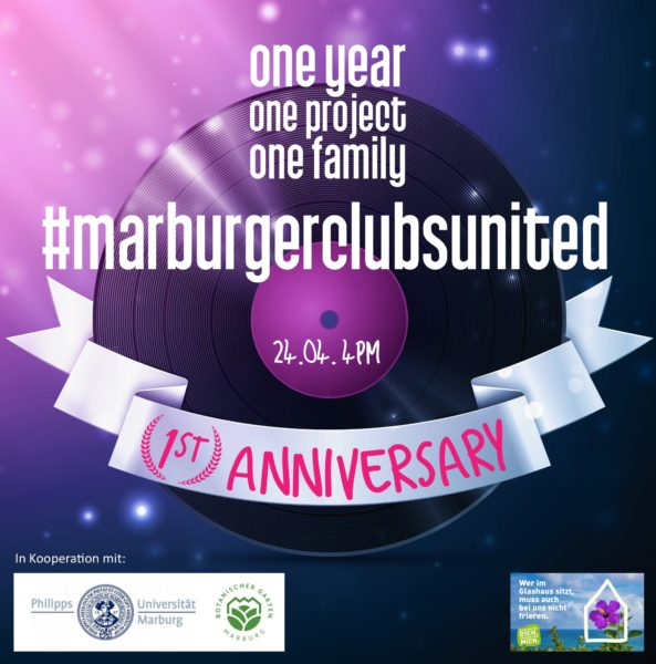 one year, one project, one family #marburgerclubsunited