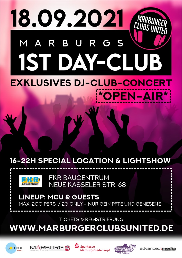 1ST Dayclub - exklusives DJ-Konzert