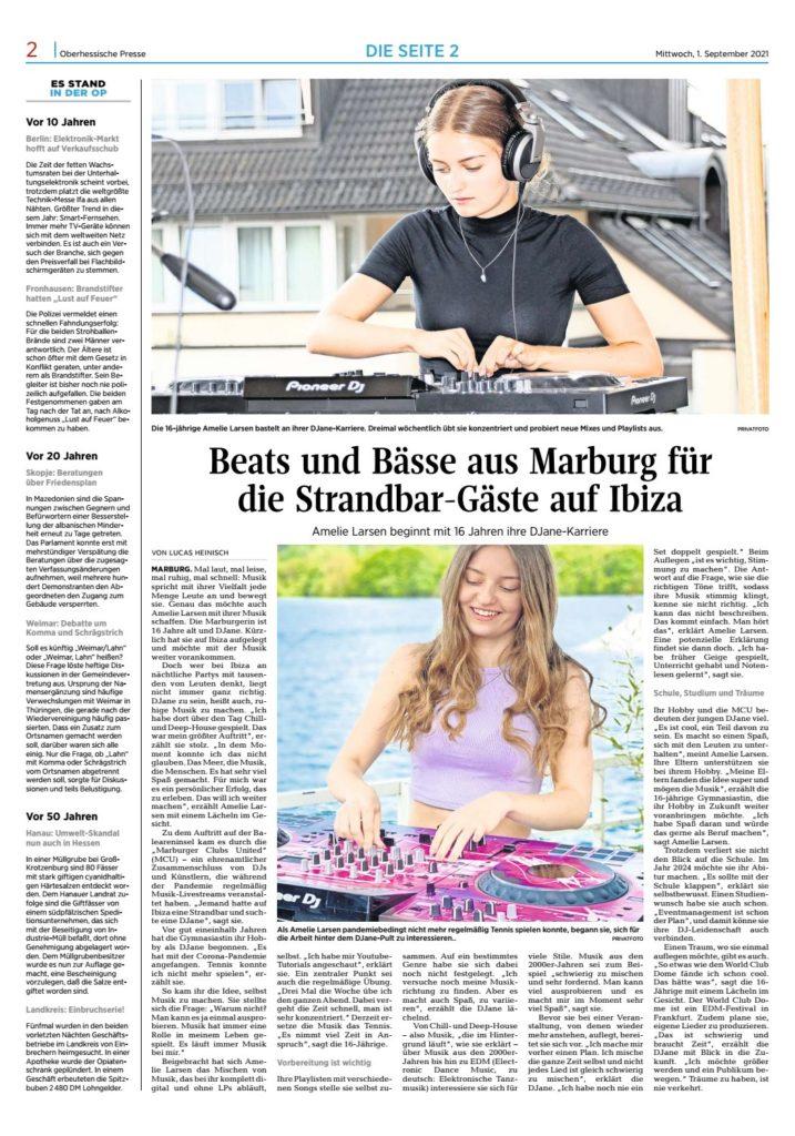 OP-Marburg: Beats und Bässe für Gäste auf Ibiza